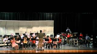 The Chipmunk Song - Performed by Hopper MS Concert 1 Band  12-07-10