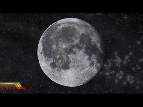 The Lunar Surface Color In Photography & In Live Footage