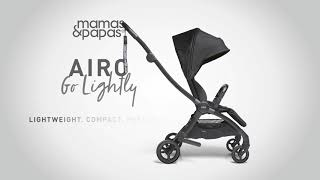 How To Carry The New Airo Like A Backpack | Pushchair | Mamas & Papas
