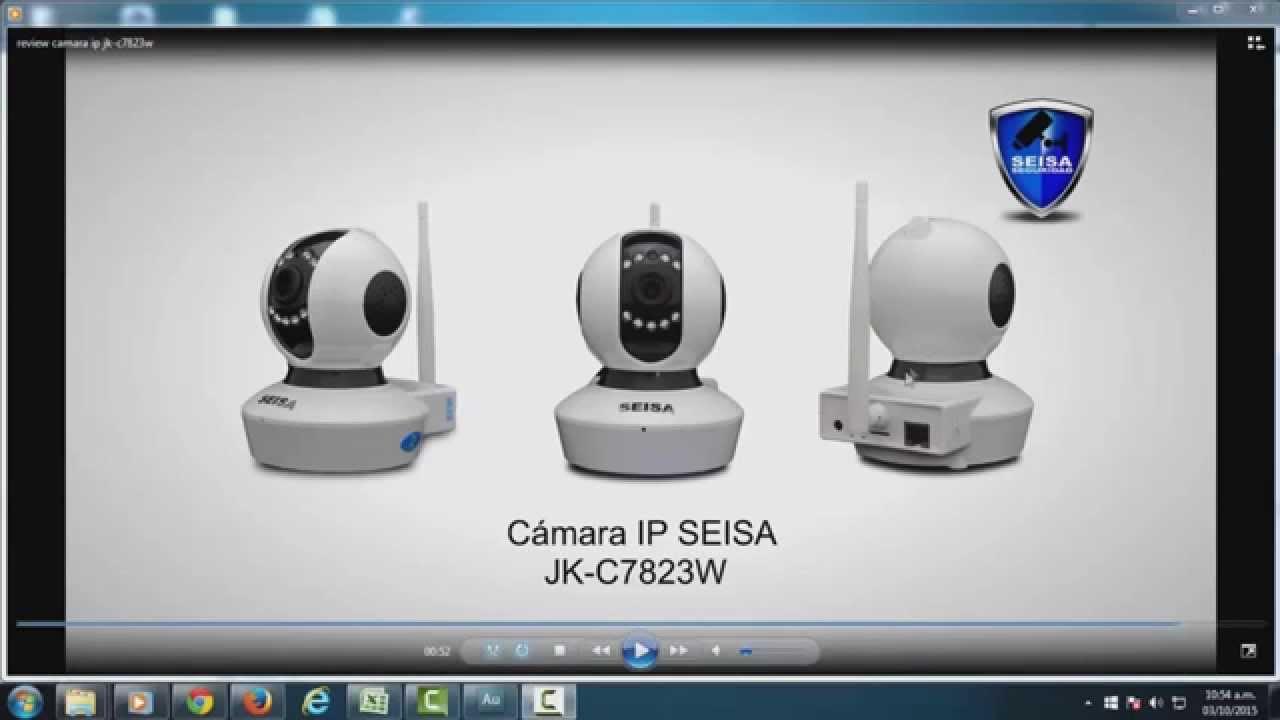 Como instalar Eye Cloud para cámara IP SEISA JK-C7823W