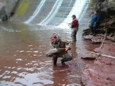 fishing at burts dam youtube