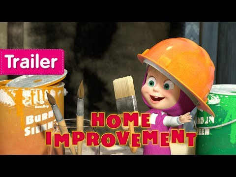 Masha and The Bear -  Home Improvement 🛠  (Trailer)