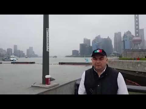 City of Shanhai and the Huangpu River