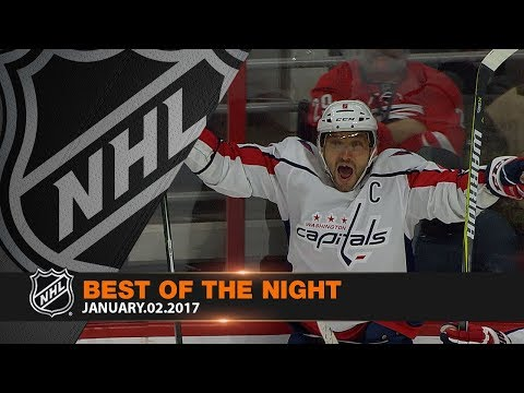 Alex Ovechkin, stingy net minders highlight Best of the Night