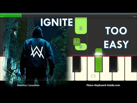Download How To Play Ignite By K 391 Alan Walker Right Hand