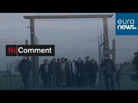 شاهد: مسؤولون مسلمون ويهود يزورون معسكر أوشفيتز  - 07:58-2020 / 1 / 25