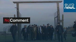 شاهد: مسؤولون مسلمون ويهود يزورون معسكر أوشفيتز