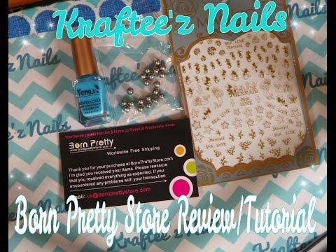 Born Pretty Store Review/Tutorial