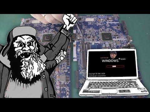 Как собрать рабочий ноутбук из хлама