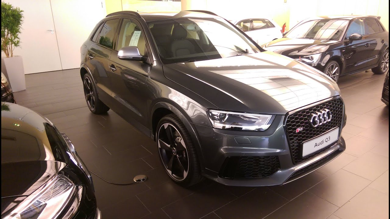2015 audi rs q3 2 5 tfsi quattro youtube. Black Bedroom Furniture Sets. Home Design Ideas