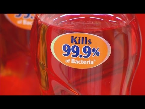 FDA: antibacterial soaps are ineffective