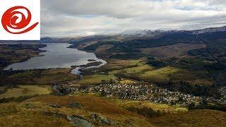 Route to Maragowan Caravan & Motorhome Club Site - Killin, Scotland