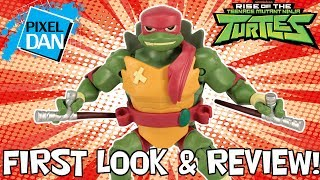 Rise of the TMNT Raphael Action Figure FIRST LOOK Ninja Turtles Toy Video Review