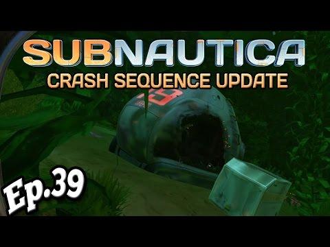 subnautica | DESTROYED Escape Pod 39