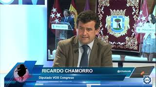 Ricardo Chamorro: Vox ya aviso que la gestión de Sánchez era un desastre, nos ha dejado tirados