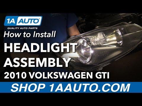 How to Replace Headlights 10-14 Volkswagen GTI