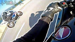 Honda Fireblade and BMW S1000RR Ride | SPEED & WHEELIES