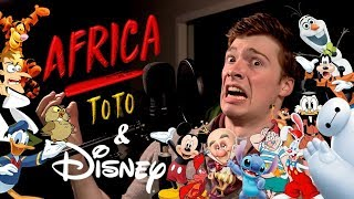 """""""Africa"""" But It's 24 Disney Impressions Video"""