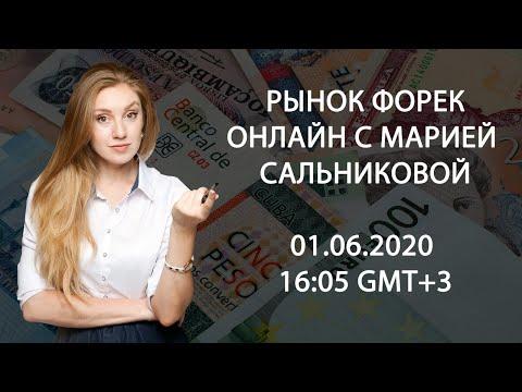 Форекс онлайн с Марией Сальниковой 01.06.2020