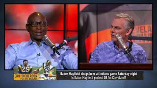 Eric Dickerson gives insight on Zeke's holdout, talks Le'Veon, Baker & Jared Goff   NFL   THE HERD