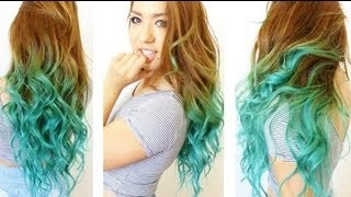 How to: Turquoise Ombre Tutorial!