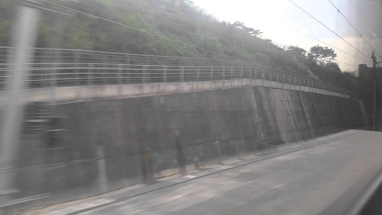 廣深港高鐵試運行 - 福田站→深圳北站 - YouTube