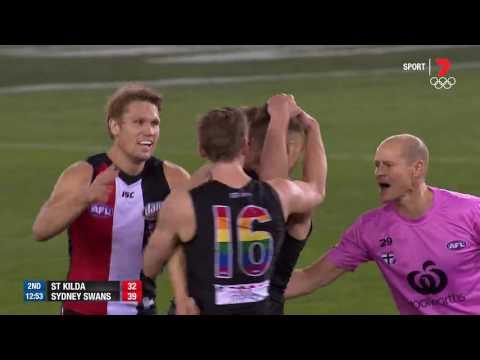 Round 21 AFL - St Kilda v Sydney Swans Highlights