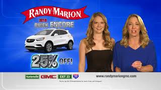 Buick Encore Special at Randy Marion Buick in Huntersville