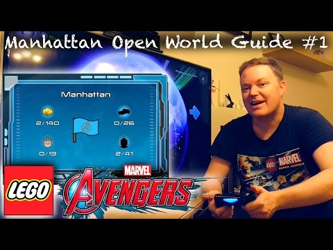 LEGO Marvel Avengers - Manhattan / New York Open World Guide #1