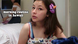 my teen morning routine in hawaii 2019
