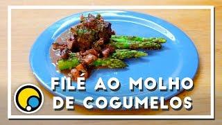 Como fazer receita de Filé Mignon ao Molho de Cogumelos - Renato Carioni
