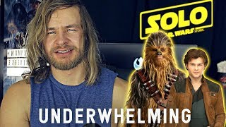 SOLO: An Underwhelming Star Wars Story MOVIE REVIEW