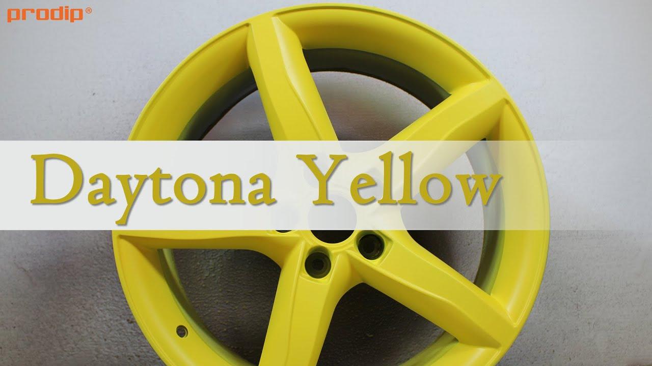 Plasti Dip Daytona Yellow - Classic Muscle Color - YouTube