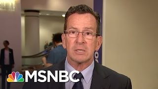 Gov. Dan Malloy: We Do Not Discriminate Against Transgender People | MSNBC