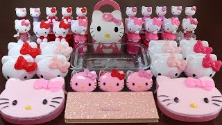 """Download """"Kitty Makeup Box"""" Mixing Pink,Purple,Red Makeup,More Stuff Into slime! Mp3 and Videos"""