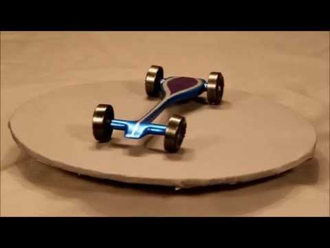 Pinewood Derby Rail Rider Car