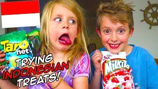 Trying Treats from Indonesia! Cultural Taste Test! / The Beach House