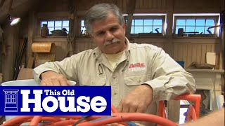 How to Coil an Extension Cord - This Old House