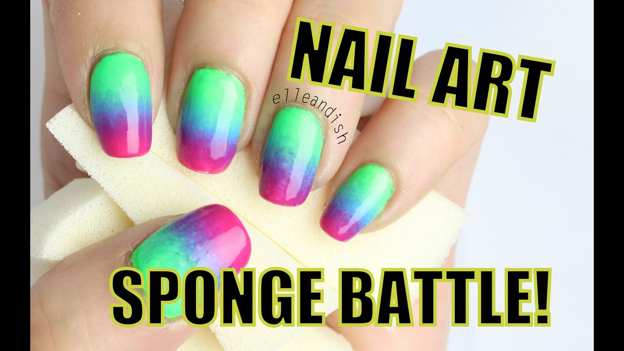 Nail art sponge battle latex vs non latex youtube nail art sponge battle latex vs non latex prinsesfo Image collections