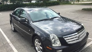 2006 Cadillac STS 3.6L V6 Car Review For Sale