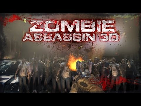 ZOMBIE ASSASSIN 3D - Android HD Game play Trailer