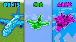 Baixar DENIS vs SUB vs ALEX - PLANE in Minecraft (The Pals)