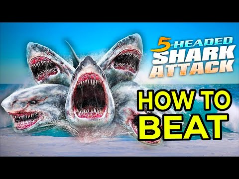 Download How To Beat 5 Headed Shark Attack (2017)