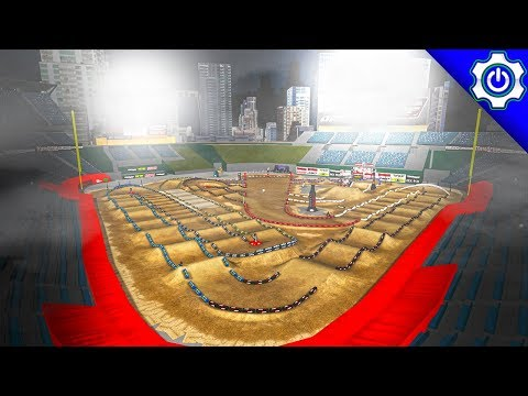 MX Simulator - 2018 San Diego Supercross Gameplay