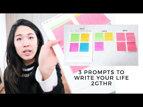 How To Write Your Life Together & Achieve Your Dreams (3 journaling prompts)