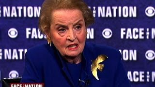 "Madeleine Albright: ""To put it mildly, the world is a mess"""