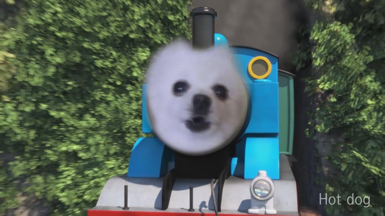 tomas the bork engine- gabe the dog