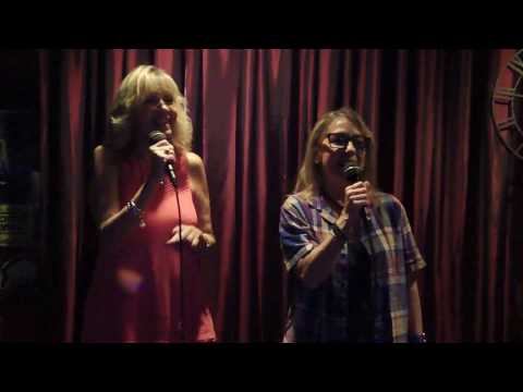 Gretchen LG & Lucille Matera Boccio singing Nobody Does It Better KARAOKE I DO NOT OWN NO COPYRIGHT