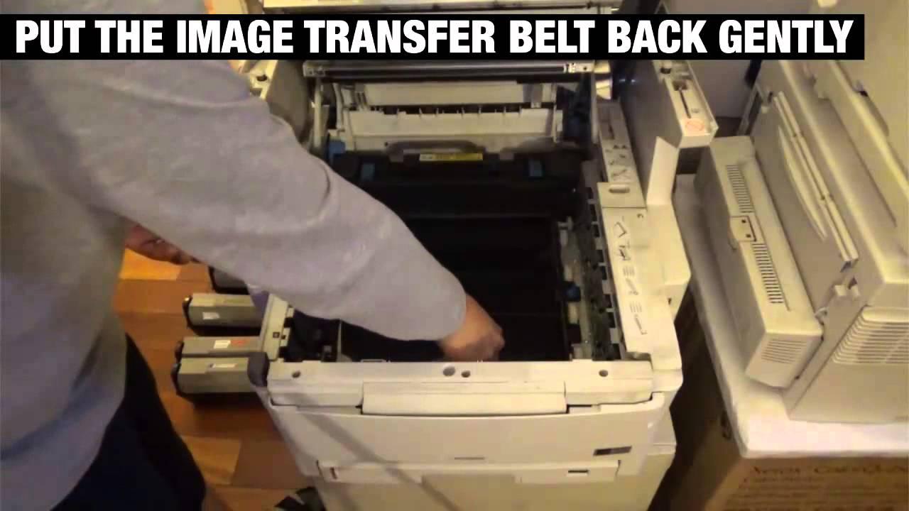 как заправить картридж на принтер oki c822 инструкция pdf