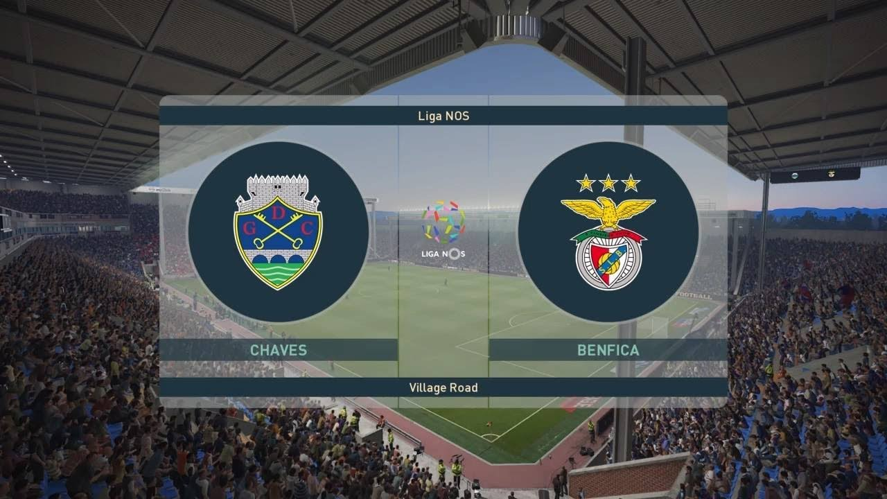 PES 2019 | Chaves vs Benfica - Portugal | Primeira Liga 2018/19 | Full  Gameplay (PS4/Xbox One)